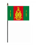 Commando Training Centre Royal Marines Hand Flag - Small.